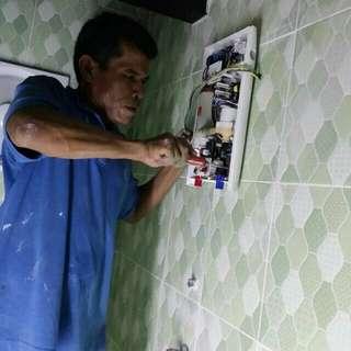 Tukang wiring & pasang tiles