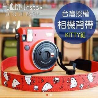 Hello kitty 相機背帶 單眼 拍立得 皆可用(包郵)