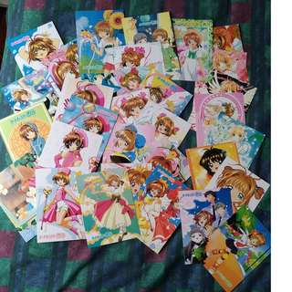Set of Cardcaptor Sakura Postcards