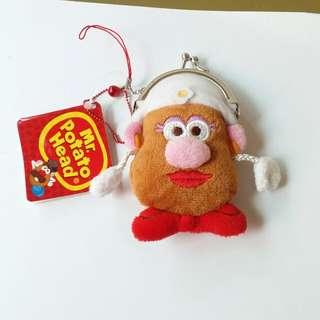 🚚 蛋頭太太娃娃玩偶小零錢包