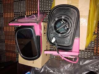 Side mirror & radiator Kabul 850