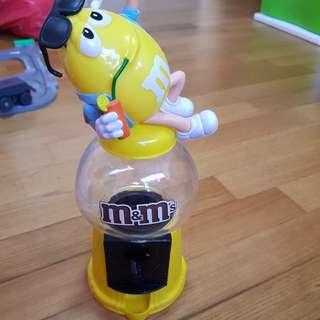 M&M vending machine toy