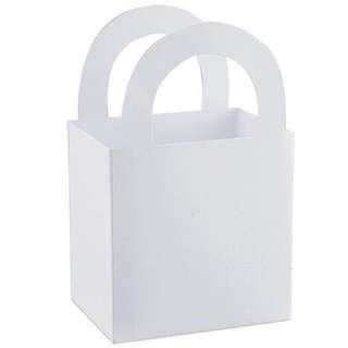 White Wedding Favor Boxes, 12-ct. Packs