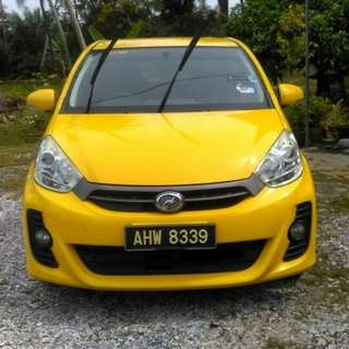 Perodua Myvi 1.5cc (M)