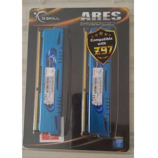 G.SKILL Ares Series 8GB (2 x 4GB) 240-Pin SDRAM DDR3 1600 (PC3 12800) Model F3-1600C9D-8GAB