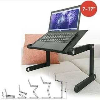 Computer laptop ipad foldable table