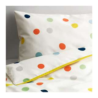 [IKEA] DRÖMLAND Quilt cover / Pillowcase for Cot / Multicolour