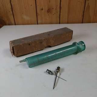 玻璃注射針筒—早期醫療收藏