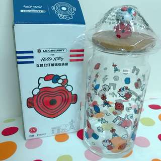 Hello Kitty立體公仔玻璃收納罐