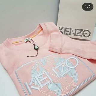 Ready New Kenzo Sweater Pink and Black