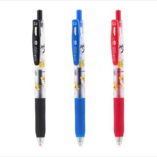 日本限定柴犬版sarasa 0.4mm 原子筆