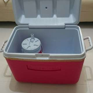 Cooler storage box