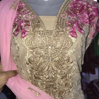 Pakistani style dress