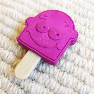 SMIGGLE Purple Eraser
