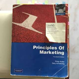 BU8501 Principles of Marketing 14th Edition