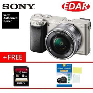 SONY A6000 ALPHA 16-50MM KIT LENS MIRRORLESS CAMERA  ««ORIGINAL & OFFICIAL SONY»»