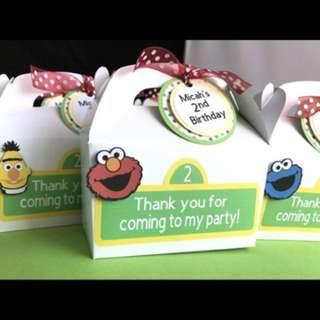 Sesame street treat box