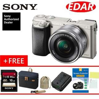 SONY A6000 16-50mm Kit Lens ( BUY 1 FREE 4 ) (ORIGINAL & OFFICIAL SONY)