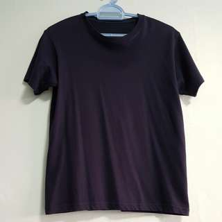 Uniqlo Navy T Shirt