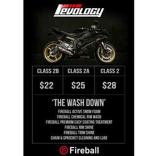 Sunday Bike Wash @ Revology!!