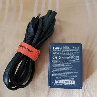 Canon battery charger CB-2LUE