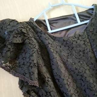 Dress hitam (HongKong shopper)