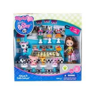 LITTLEST PET SHOP Fashion and Treats Boutique #2298 Polar Bear #2203 Bee