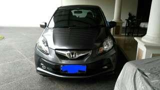 Honda brio E at km rendah full orisinil harga cash