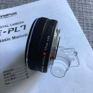 Olympus 17mm f2.8 lens