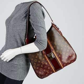 LOUIS VUITTON limited edition bordeaux mono mirage musette bag