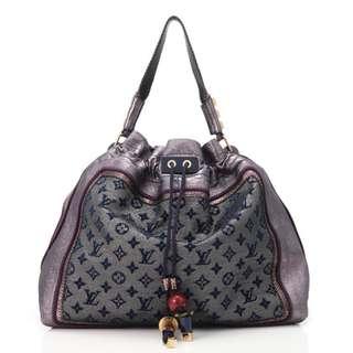 Brand New Louis Vuitton LV Rare Monogram Bluebird Designer Handbag Bag Tote
