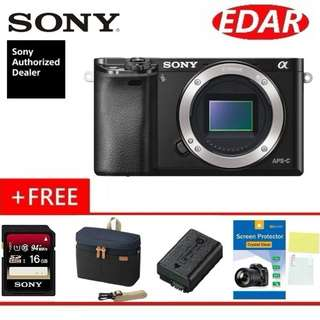 SONY A6000 BODY ONLY (ORIGINAL & OFFICIAL SONY)