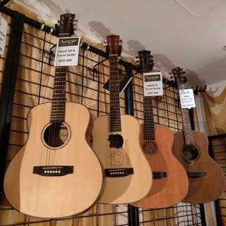Travel size guitars clearance