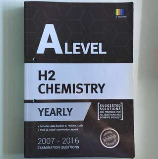 A Level H2 Chemistry TYS 2007-2016 (with answer key)