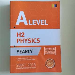 A Level H2 Physics TYS 2007-2016 (with answer key)