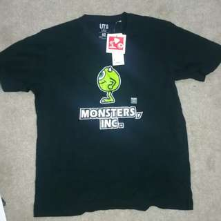 Monsters inc mike UNIQLO top