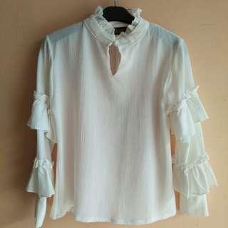 MAYOUTFIT Shirt - Broken white