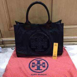 TORY BURCH BAG - ORIGINAL - ASLI - BLACK