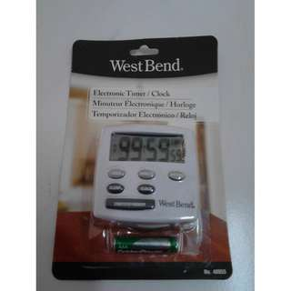 West Bend 2-Function Electronic Timer