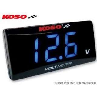 KOSO - Voltmeter Red / Blue
