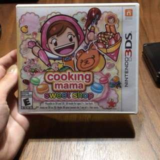 3DS Cooking mama