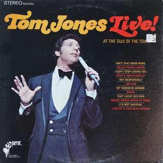 RESERVED - vinyl LP, Tom Jones