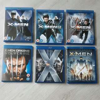 $12 for any 3 of X-Men Original Blu ray Titles Movies