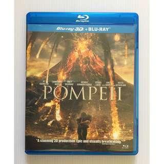 Pompeii 3D Blu Ray + Blu Ray