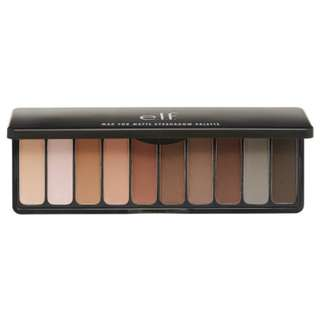 e.l.f. Mad for Matte 10pc Eyeshadow Palette, Nude Mood