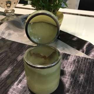 Vintage Jade Trinket Box