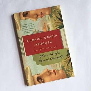 Chronicle of A Death Foretold - Gabriel Garcia Marquez