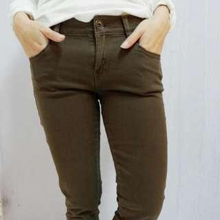 Skinny Pants Colorbox Coklat