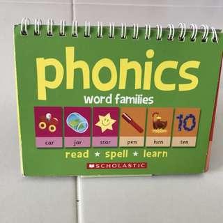 PL phonics flip chart scholastic