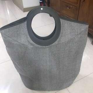 Gray Hamper Bag / Basket